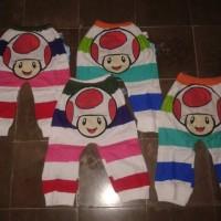 Celana anak karakter jamur