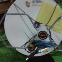 Antena tv mini parabola