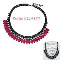 Kalung Simple Merah - KL14380