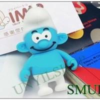 FANCY FLASHDISK USB LUCU DAN UNIK SMURF / SMURF BI