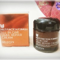 mizon all in one snail repair cream 75gr/krim perbaikan kulit dr siput
