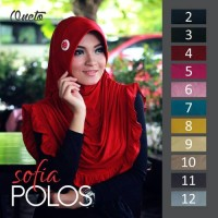 Jilbab Sofia Polos