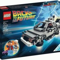 LEGO 21103 IDEAS BACK TO THE FUTURE DELOREAN
