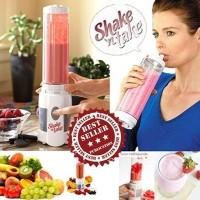 shake and take 2 cup shake n take 2 botol blender juicer fruit buah ok