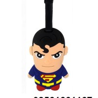 Tempelan Koper Luggage Tag Superman