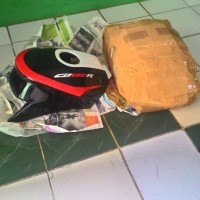 harga Kondom/Cover Tangki CB150R 100% FIBER TER-MURAH Tokopedia.com