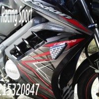 Half Fairing New Vixion Gp Lightning Model Ninja Fi