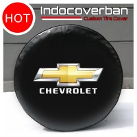 Cover Ban / Sarung Ban Serep Chevrolet Trooper Logo Chevrolet