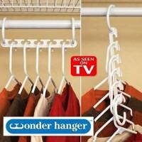 Wonder Hanger Magic Gantungan Baju Pakaian Isi 8 Pcs Door-BOTSSURABAYA