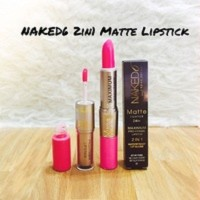 NAKED6 2in1 Matte Lipstick ( waterproof Lipgloss)