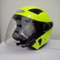 harga Helm Zeus 610 Replika Nolan - Yellow Flouresence Tokopedia.com