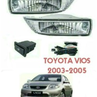 Fog Lamp Set Toyota Vios 2003-2005