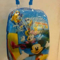 Tas koper trolley Sd import Mickey Mouse bahan fiber