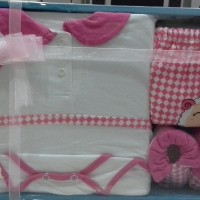 Jual Baby set kiddy Jumper,celana panjang  & sepatu ( baby gift girl ) Murah