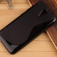 Jual Gel S-line Soft Silikon Kondom Cover Sarung Case Htc Desire 620
