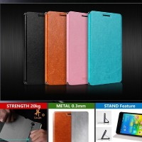 Jual Mofi Leather Flip Book Stand Cover Case Sarung Kulit Lg G3 Beat