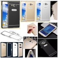 Jual Metal Bumper Slide Hard Back Cover Casing Case Samsung Galaxy J7