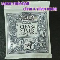 senar ernie ball clear & silver nylon