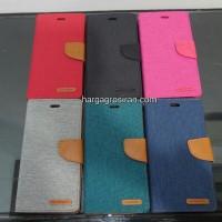 harga Sarung Buku Silikon/ Canvas Diary Original Mercury Iphone 6 5.5 Inch Tokopedia.com