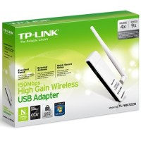 TP-Link 150 Mbps TL-WN722 Wireless N USB Adapter + Antena