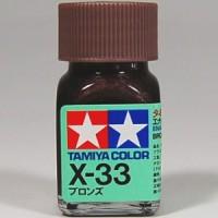 Tamiya X-33 Bronze Enamel Paint
