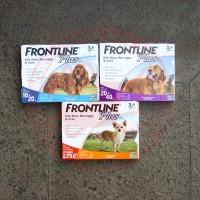 Harga jual frontline plus obat kutu anjing 20 40kg | antitipu.com