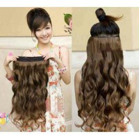 Jual Hair Clip Big Layer Curly / Lurus merk Pink / hairclip Murah