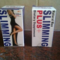 NATURAL MAX SLIMMING PLUS Penurun Berat/Pelangsing Badan/Tubuh