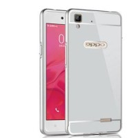 Oppo R7 Bumper Alumunium Double Protection Side And Back Stylish Serie