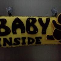 baby inside / baby In car / gantungan Mobil / asesoris mobil