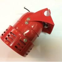 "Motor Sirene MS-190M 3"" 220VAC Red Metal"