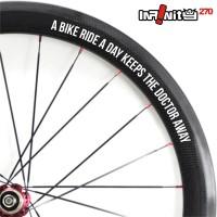 harga sticker sepeda rim wheel 700c teks dokter bike ride fixie 4x/wWSQ-002 Tokopedia.com