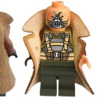 Lego Bane Jacket - Jaket Bane Minifigure
