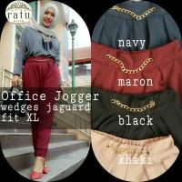 supplier baju hijab : office joger ori by ratu / celana tebel