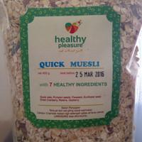 Jual Natural Muesli ( Sereal ) Quick 450 gr Murah