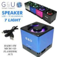 Portable Speaker G&U USB Micro SD Flashdisk Support Gadget PC Komputer
