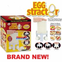 Pengupas Kulit Putih Telur alat dapur chef art Egg Stractor