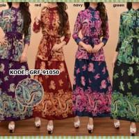 Setelan Batik Zaskia / Baju Muslim Wanita / Busana Muslimah