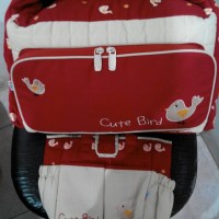 tas bayi kiddy Multi fungsi 2 Tas (1 Tas Besar + 1 Tas Kecil)