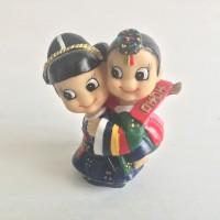 Hanbok Doll - Sepasang Couple Boneka Tradisional Khas Korea Selatan V