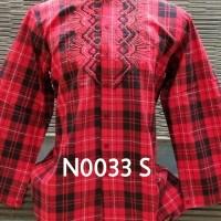 Baju Muslim, Baju Koko, Baju Muslim Preview Itang Yunasz Merah Size S