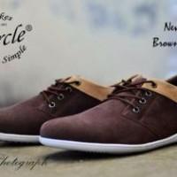 harga Circle New 003 Brown / Sepatu Casual Pria/ Sepatu Santai Pria Tokopedia.com