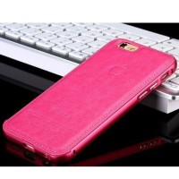 Casing HP Unik Premium Leather Case Pink Iphone 5/5s Iphone 6/6+