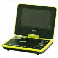 Dvd Portable GMC DIVX-808T-TV-GAME-FM RADIO 9inch