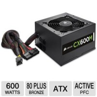 Corsair CX Series 600W - Bronze