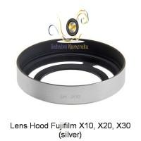 Fuji X10 / X20 Lens hood (Silver)