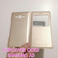 flipcover gold samsung a5
