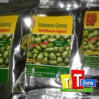 Edamame Goreng, Fried Edamame Soybeans 200g mer SIP asli Jember