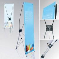 HOT Stand Y Banner Portable (Kaki Tiang) Penyangga Banner Iklan Produk
