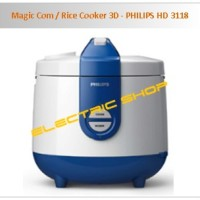 Magic Com / Rice Cooker 3D - PHILIPS HD 3118